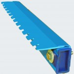 Stiffener – With M.S. inserted and sealed at both end Spacer bar with suitable notching as per Eliminator profile.