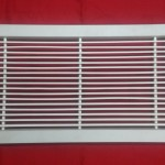 Rectangle PVC Grill